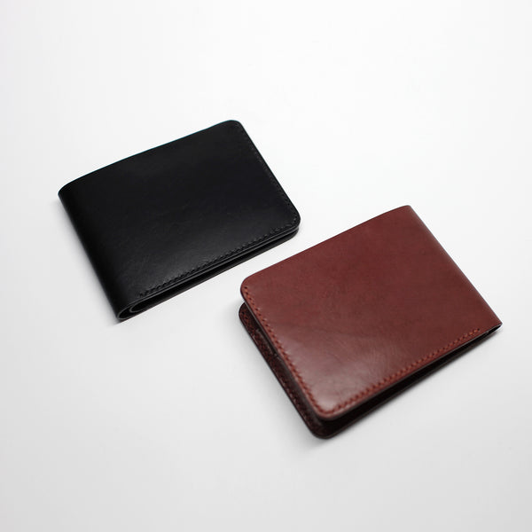 7115 Leather Billfold Wallet - Brown