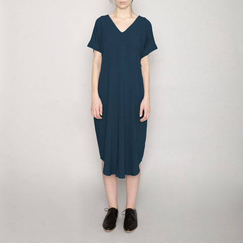 Signature T-Shirt Reversible Maxi - Navy