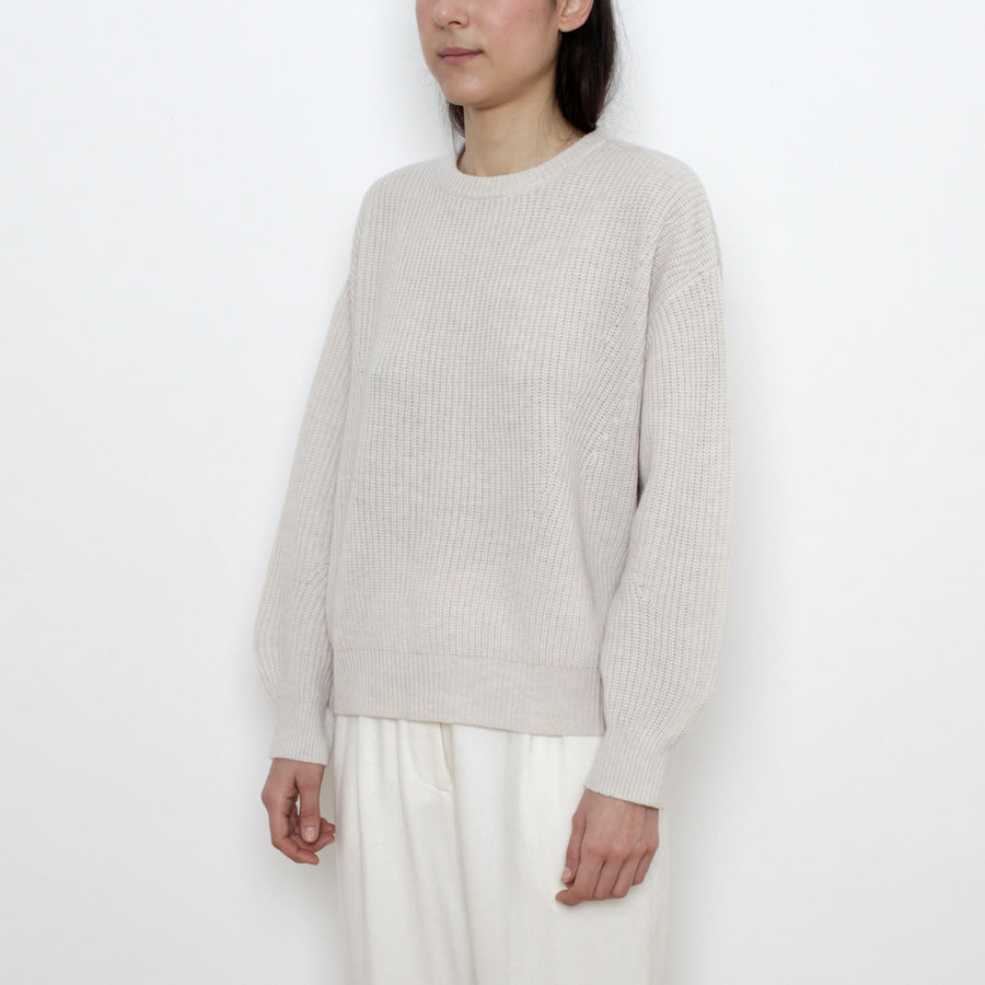 Poet Sleeves Sweater - Special Edition - Bone