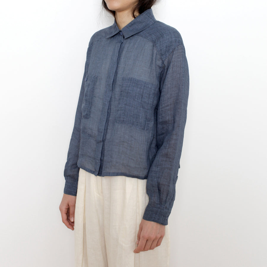 Summer Pockets Shirt - SS21 - Navy