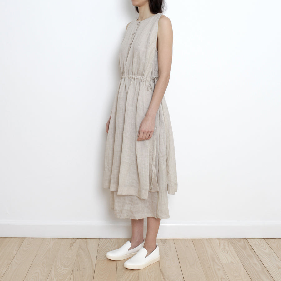 Summer Layered Dress - SS21 - Wheat