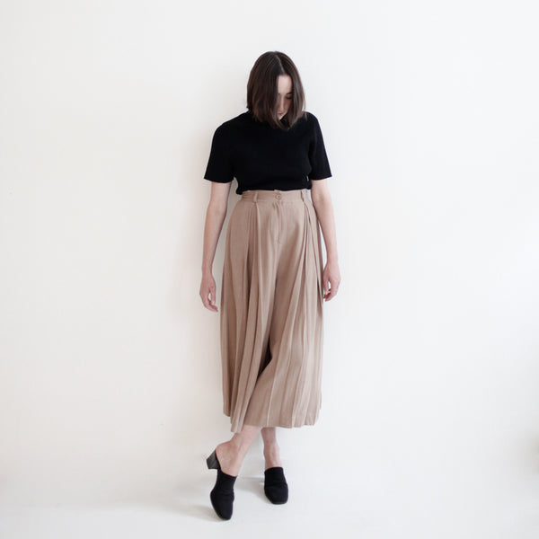 Pleated Culotte - FW18