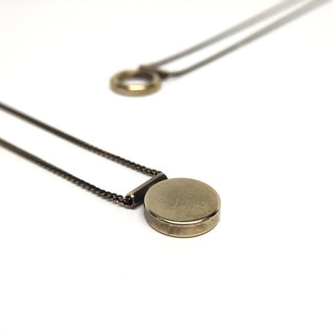 Round Disc Necklace - Mini - BSC