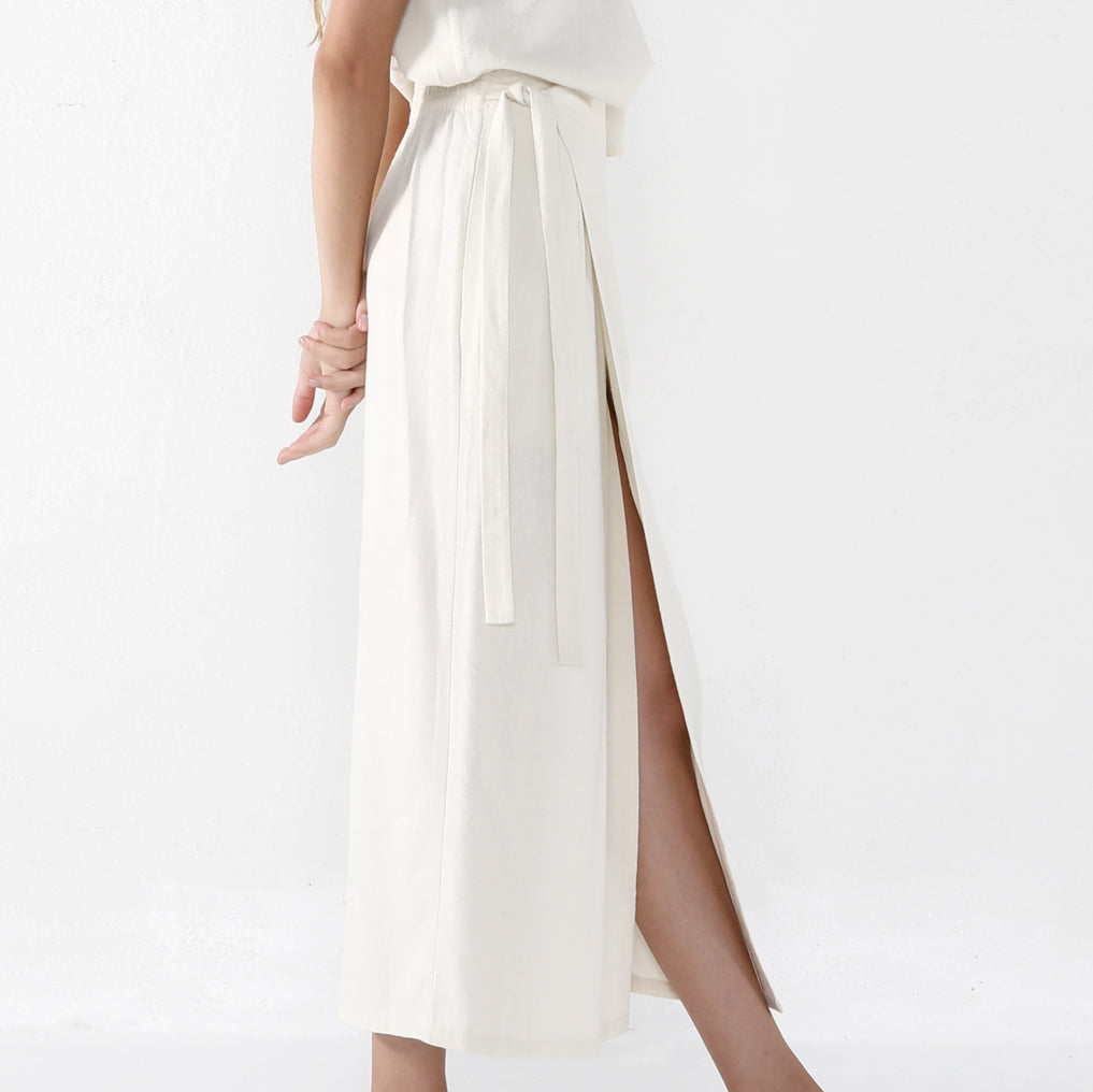 Ainsley Wrap Skirt - SS20 - Off-White