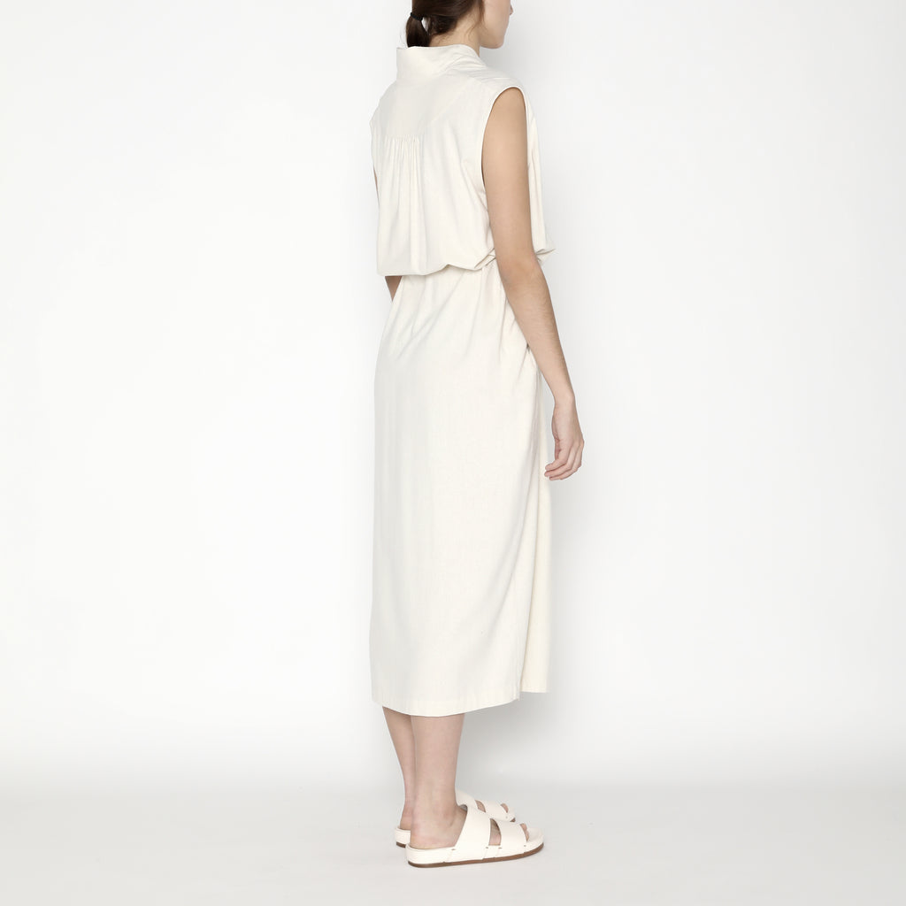 Karate Vest-Dress - Silk - SS20 - Off-White
