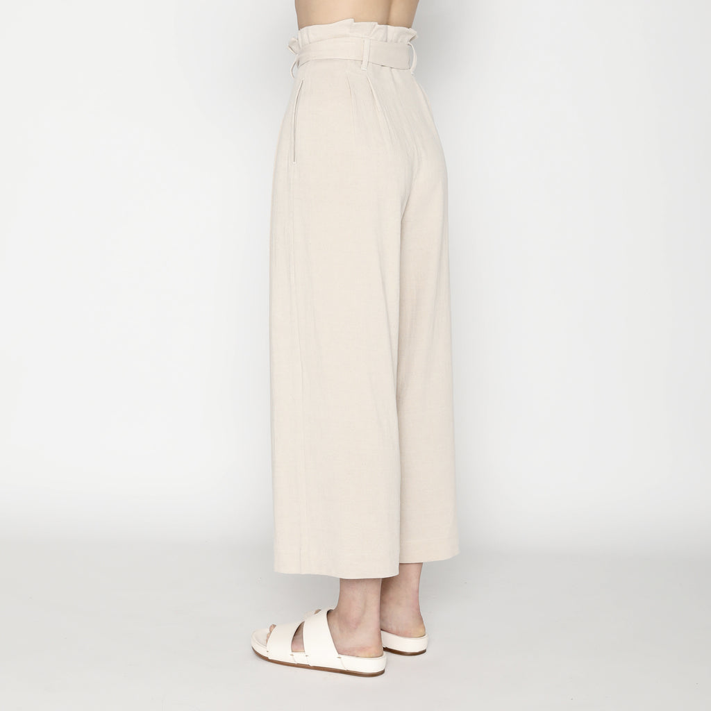 Pleated Trouser - SS20 - Sand