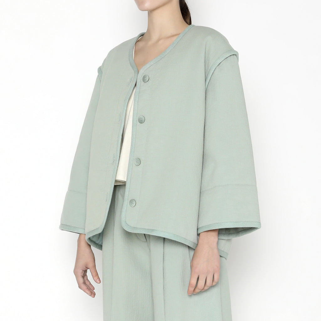 Spring Quilted Jacket - SS20 - Aqua