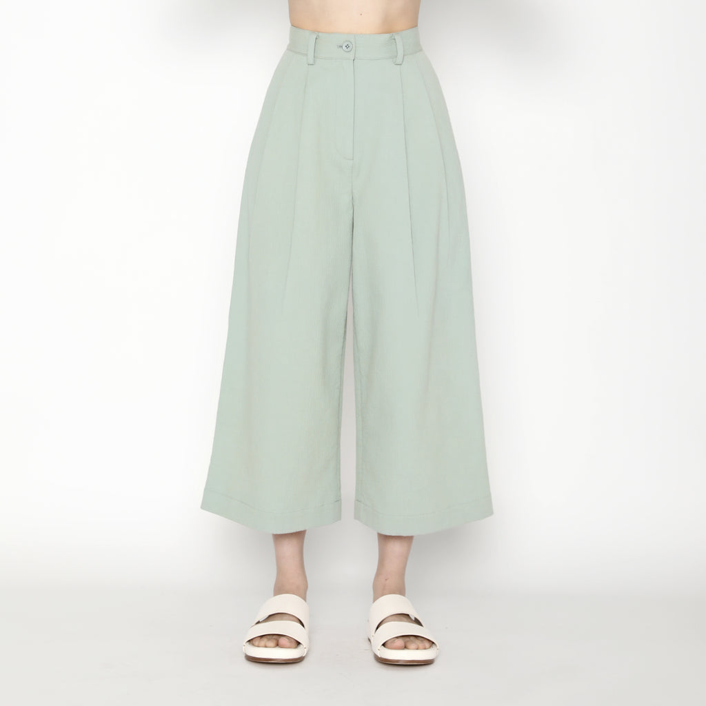 Pleated Skate Trouser - SS20 - Aqua
