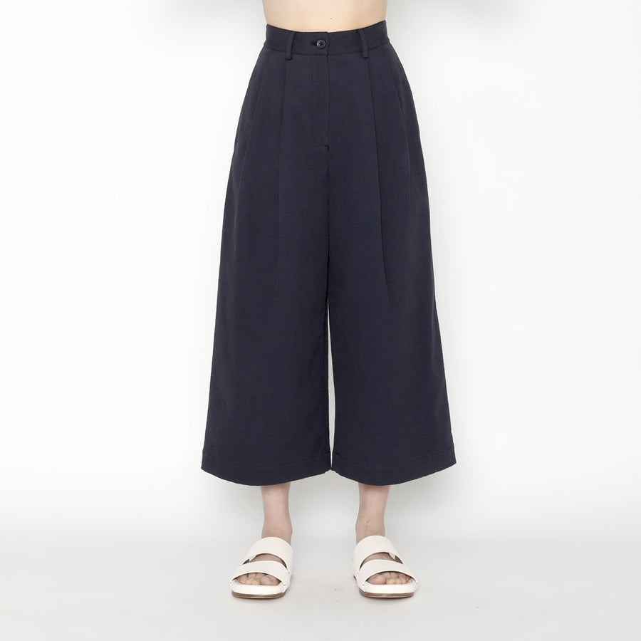 Pleated Skate Trouser - SS20 - Navy