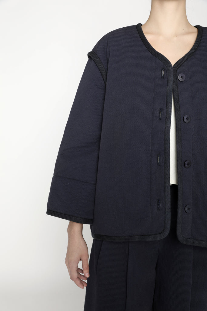 Spring Quilted Jacket - SS20 - Navy