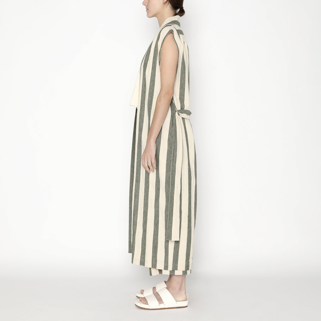 Karate Vest-Dress - Stripe - SS20 - Light Stripe