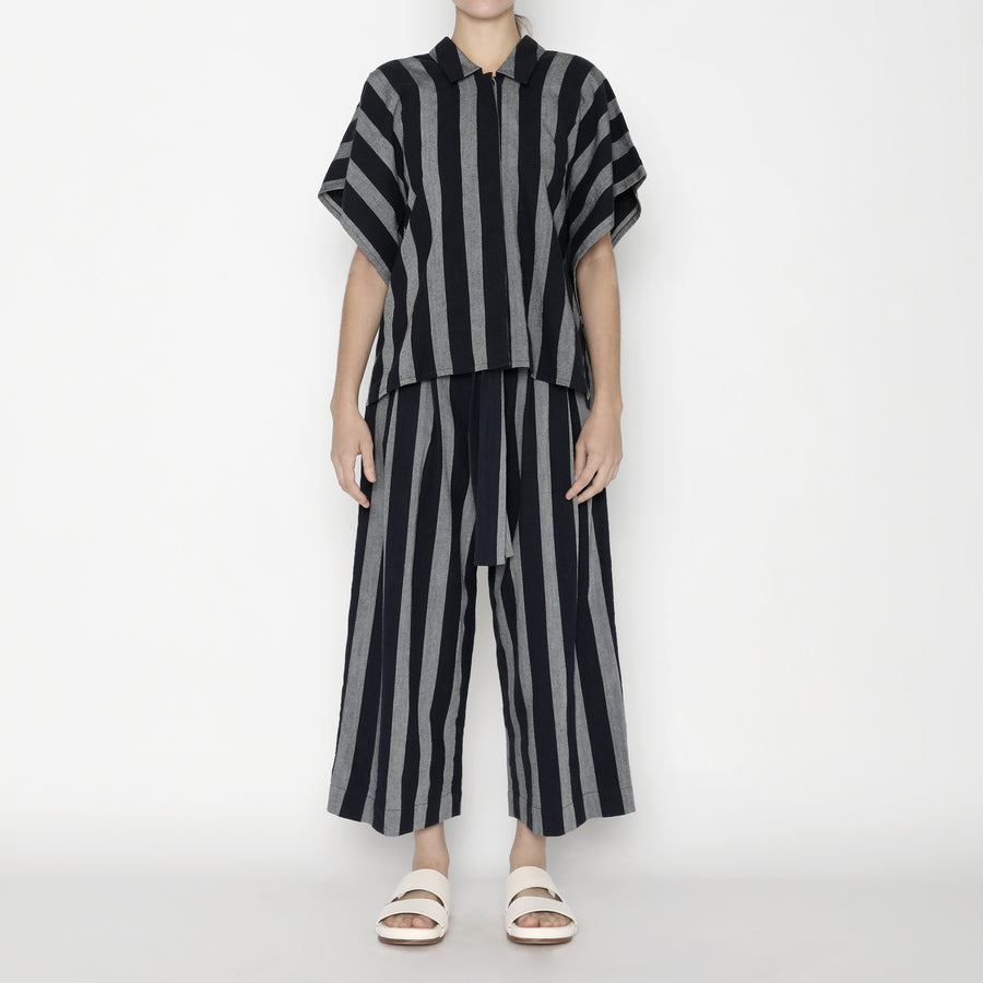 Striped Swing Shirt - SS20 - Dark Stripe