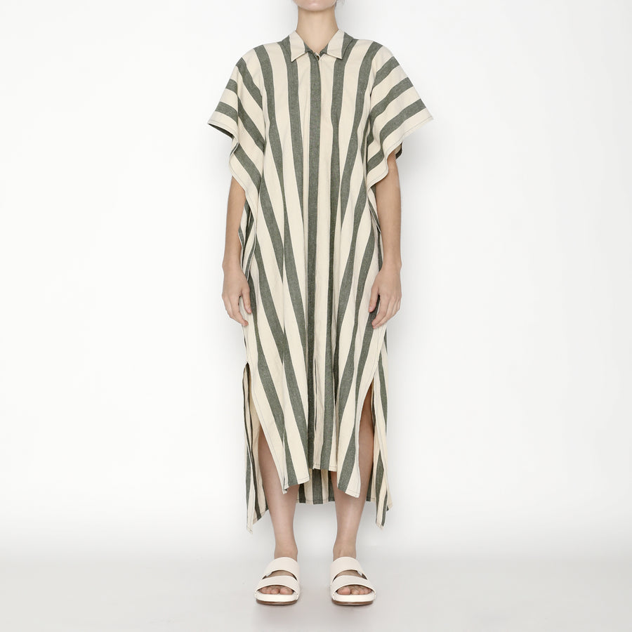 Striped Swing Shirtdress - SS20 - Light Stripe
