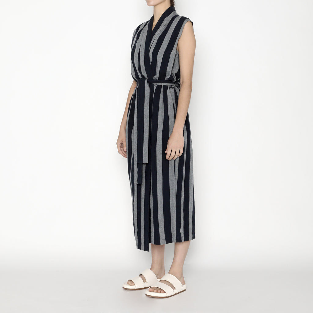 Karate Vest-Dress - Stripe - SS20 - Dark Stripe