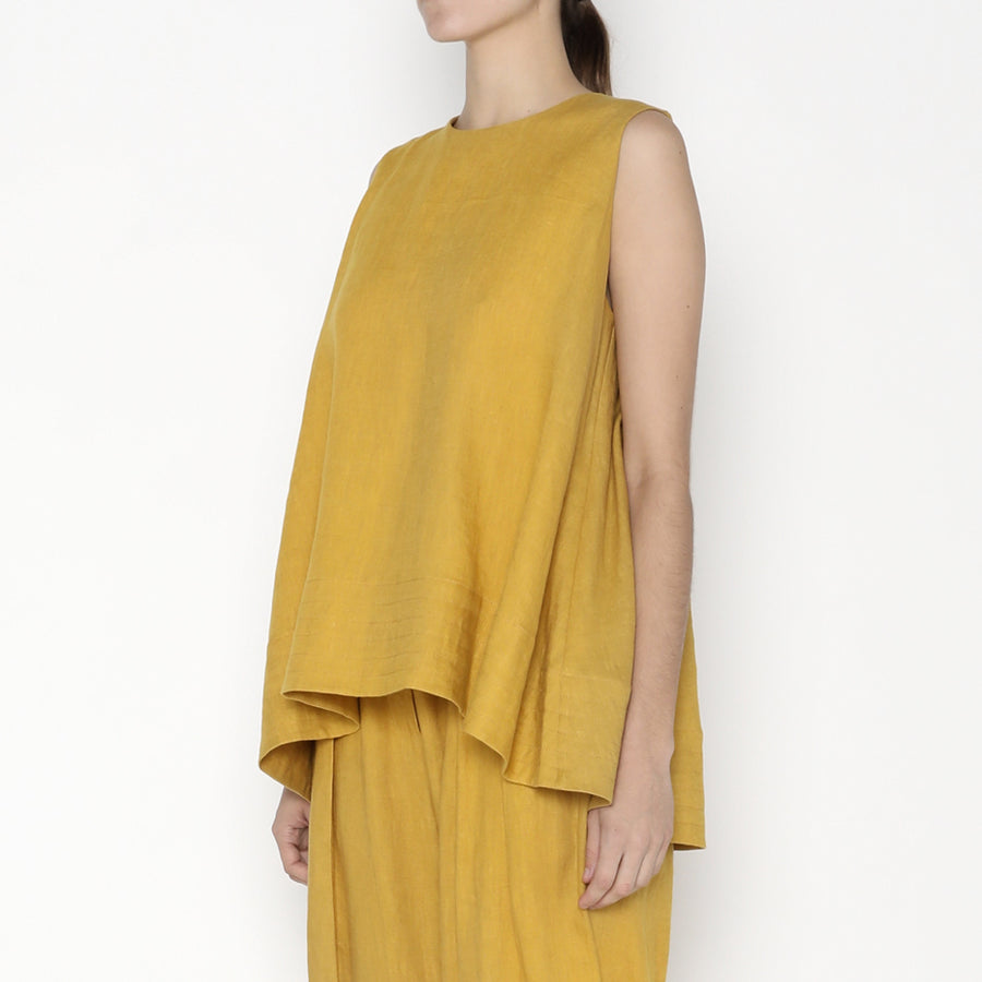 Linen Tent Top - SS20 - Canary