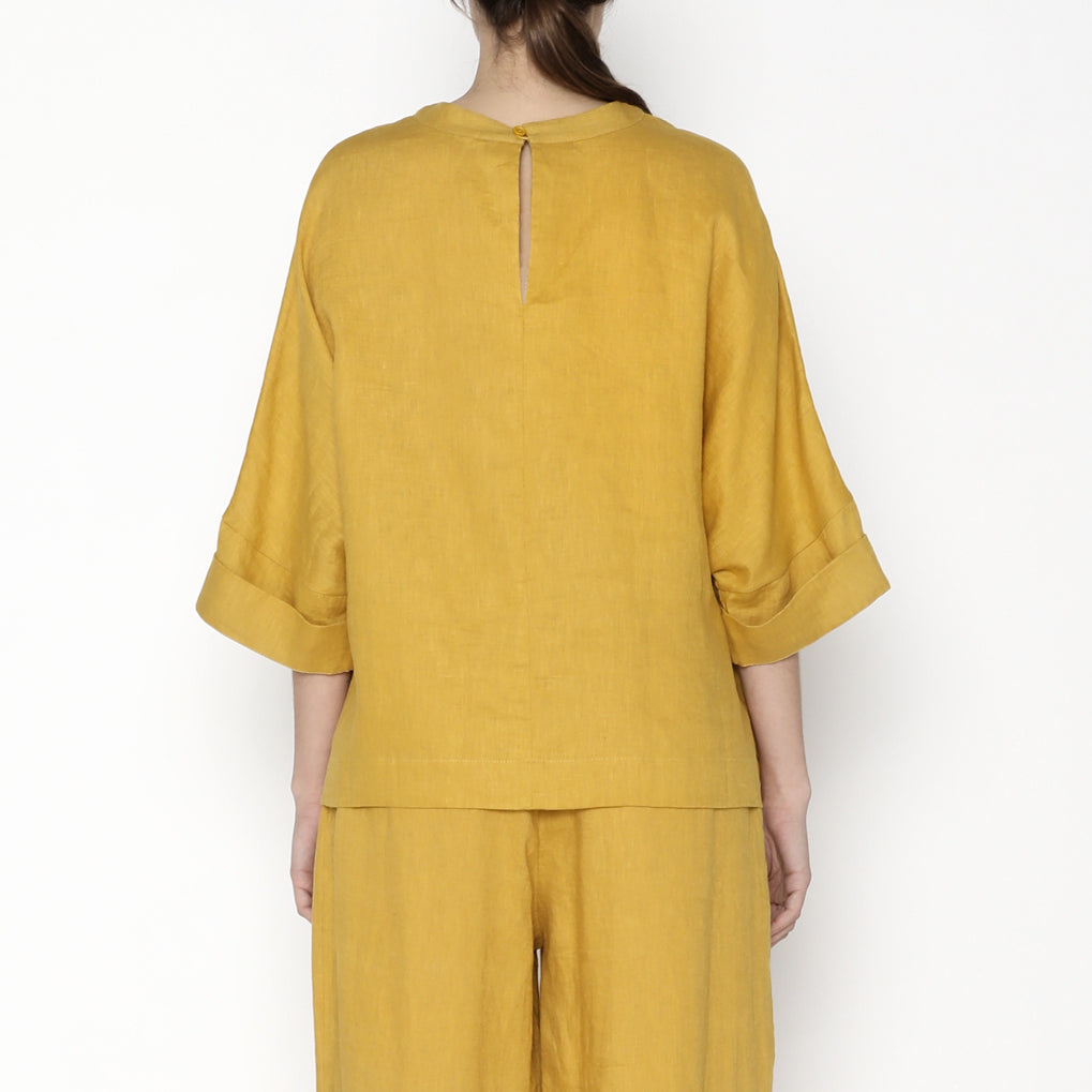 Relaxed Square Top - SS20 - Canary