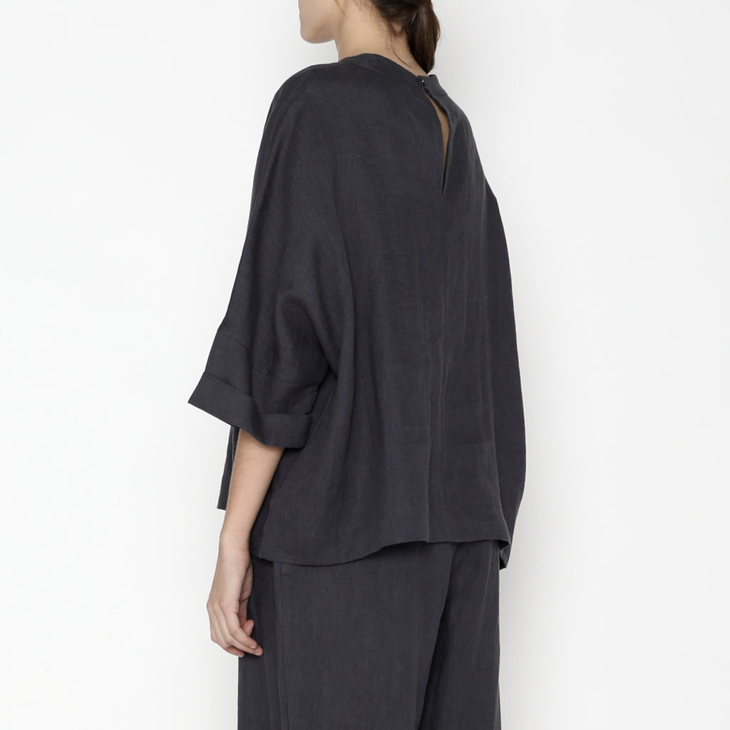 Relaxed Square Top - SS20 - Slate