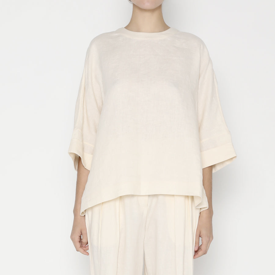 Relaxed Square Top - SS20 - Off-White