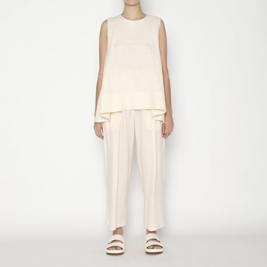 Linen Tent Top - SS20 - Off-White