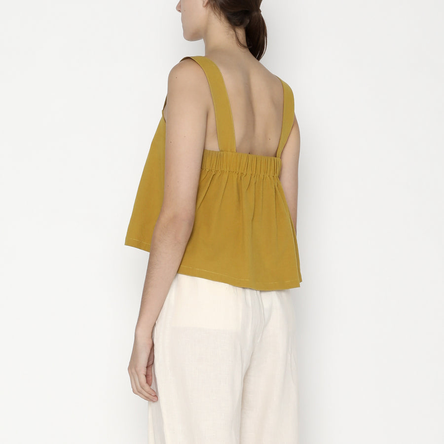 Summer Sun Top - SS20 - Mustard