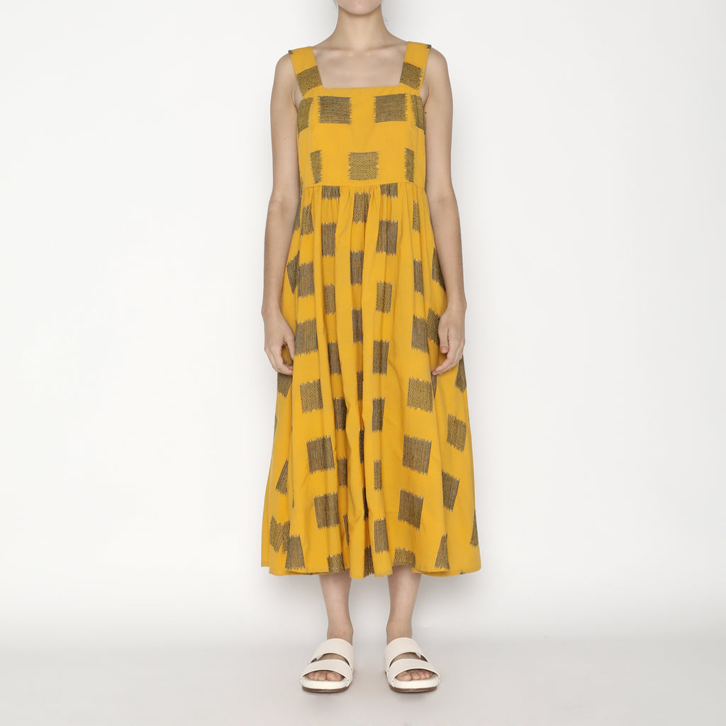 Summer Sundress - Square - SS20 - Canary