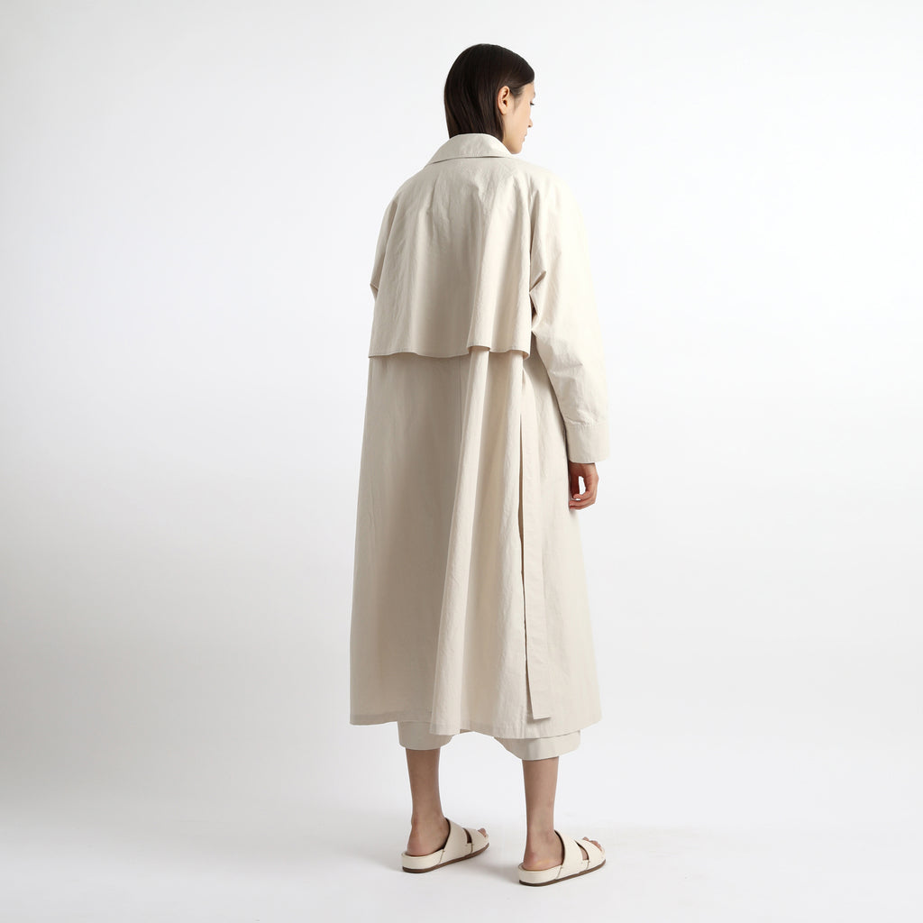 Long Spring Trench - SS21 - Bone White