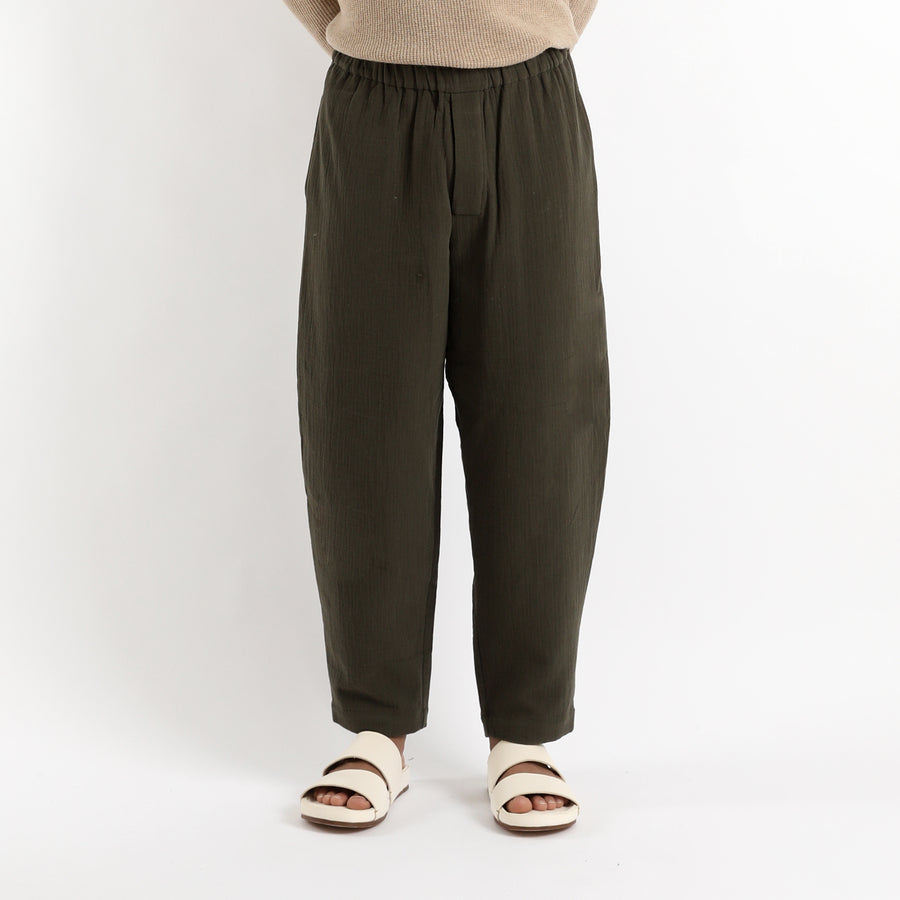 Unisex Elastic Pull-Up Trouser - Cotton - FW20