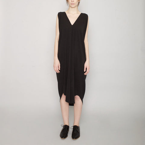 Signature Reversible Maxi Dress - Black