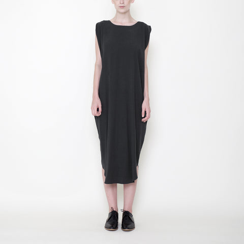 Signature Reversible Maxi Dress - Charcoal