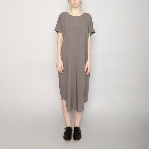 Signature T-Shirt Reversible Maxi - Gray