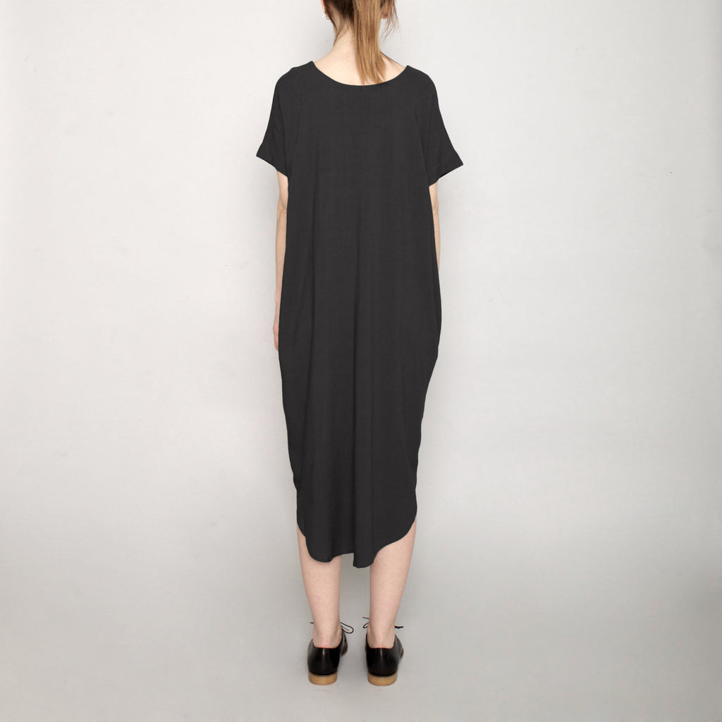 Signature T-Shirt Reversible Maxi - Black