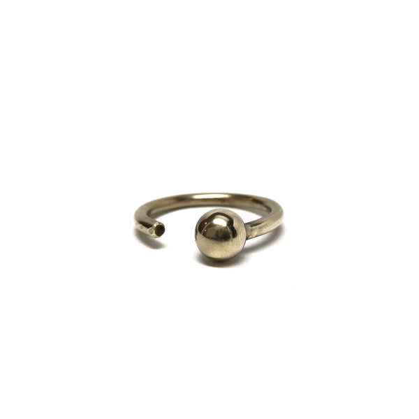 Single Sphere Ring - Medium - BSC