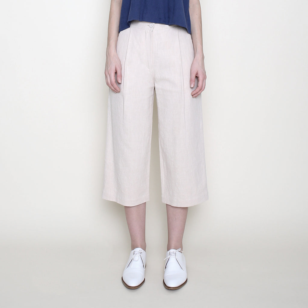 ed83a8c4fbae Spring Cropped Trouser - Cream - SS18