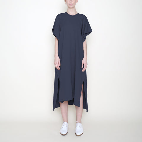 Swing Midi Dress - Navy - SS18