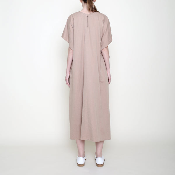 Swing Midi Dress - Clay - SS18