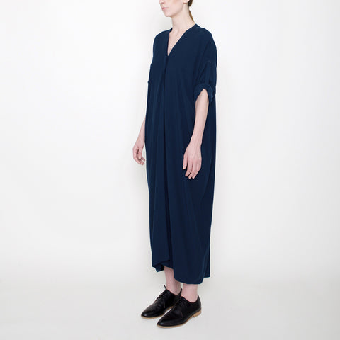 Workman Dress - Navy - FW17