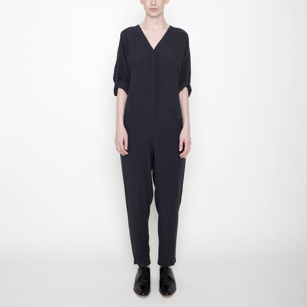 Workman Jumpsuit - Charcoal - FW17