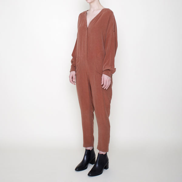 Workman Jumpsuit - Rust - FW18