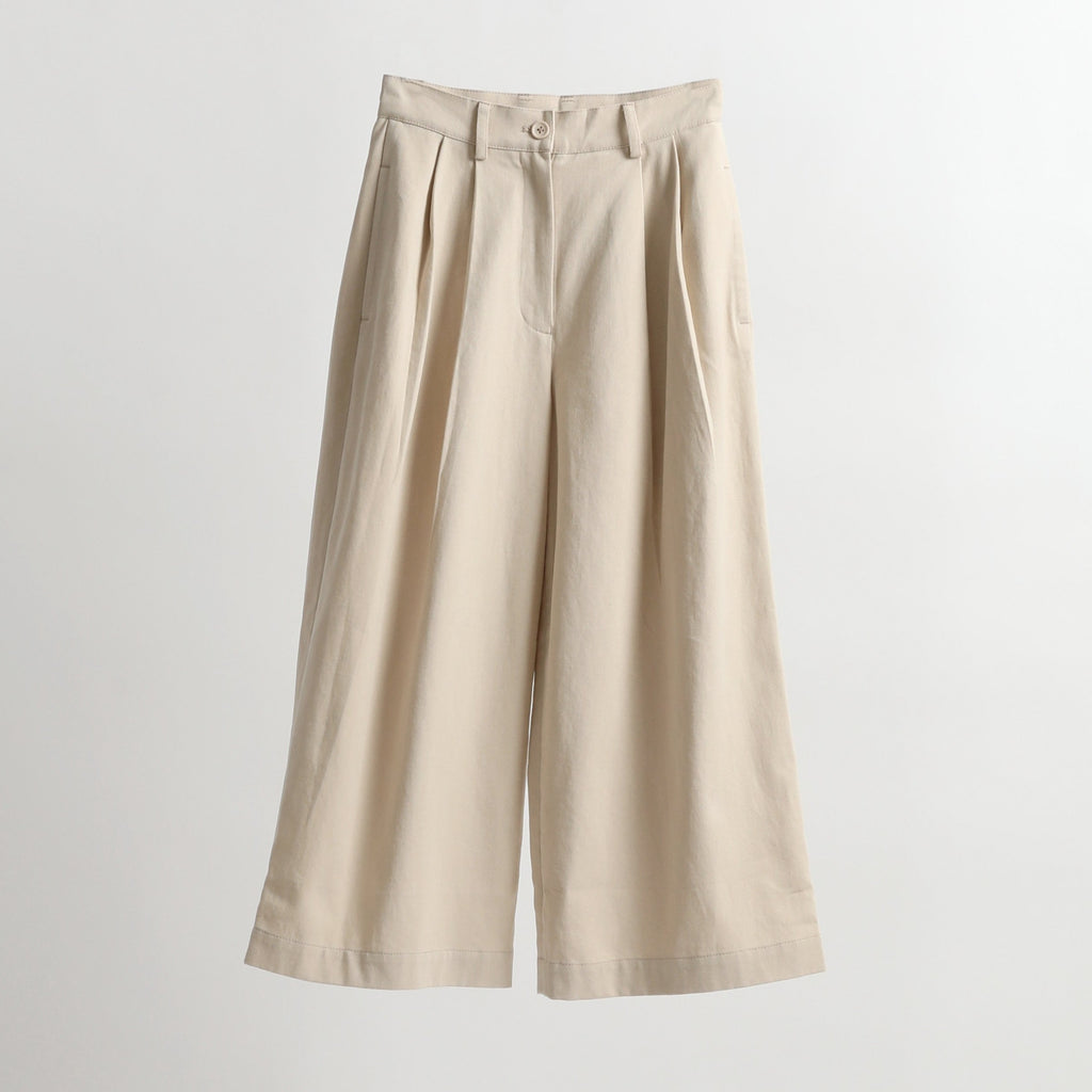 Pleated Skate Trouser - SS21 - Sand Beige