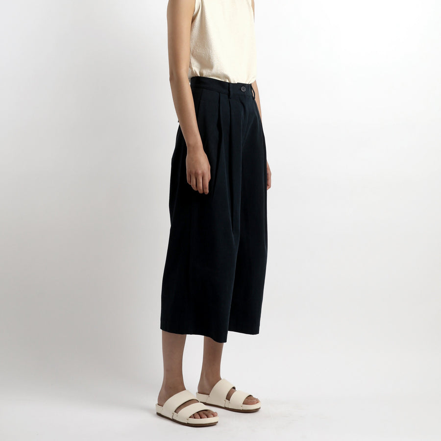 Pleated Skate Trouser - SS21 - Navy