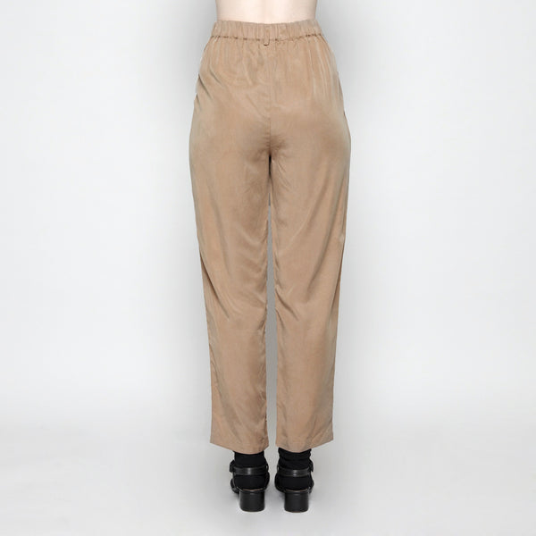 Pleated Trouser - Camel FW16