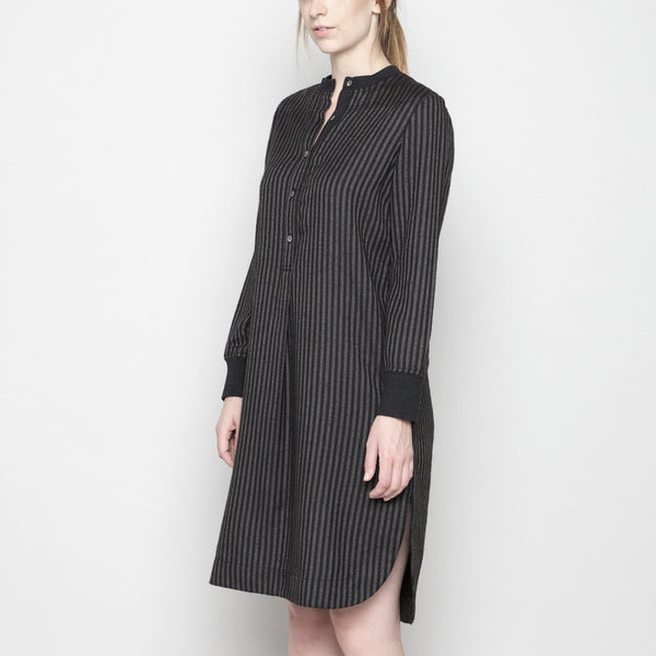 Fall Jumper Dress - Stripe FW16