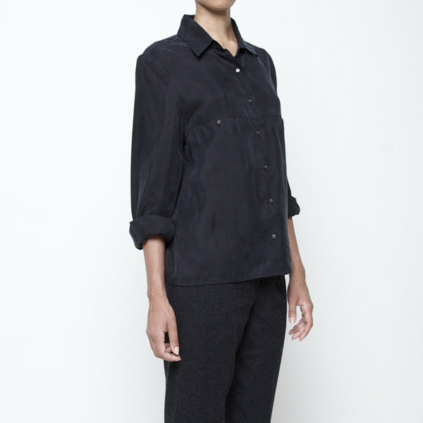 Pockets Button Down FW15 - Black