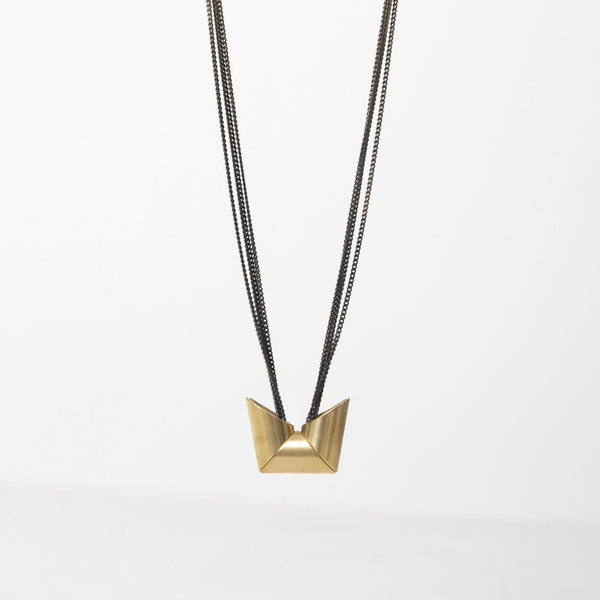 Triple Trapezoid Necklace