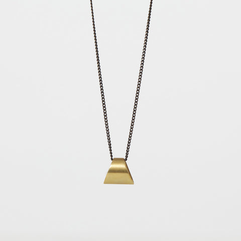 Trapezoid Drop Necklace