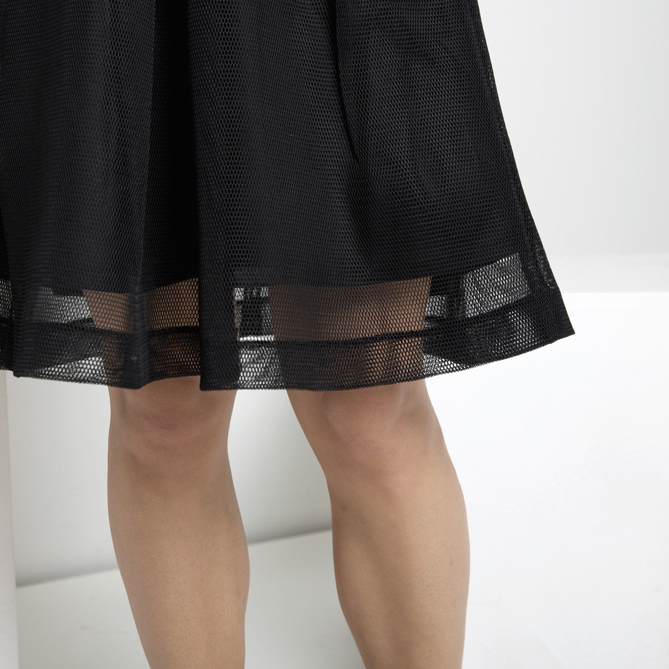 4bb672da62b Fishnet A-Line Skirt FW15. 7115 BY SZEKI