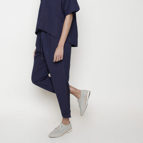 Drawstring Relaxed Pant- Navy SS16