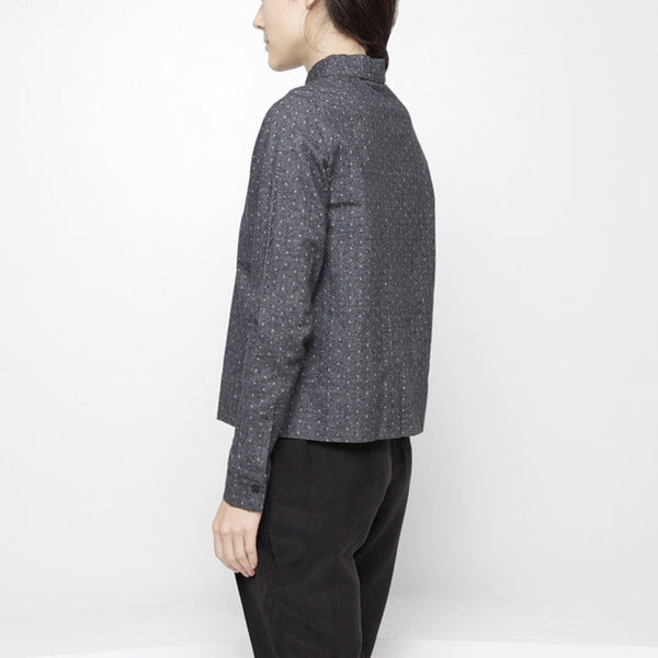 Polkadot Button Down FW15