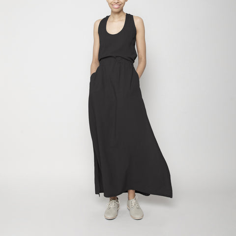 Racerback Maxi Dress - Black FW16