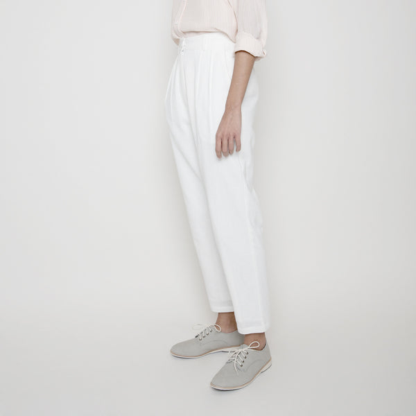 High Waisted Trouser- White or Black SS16